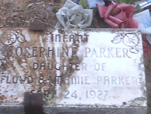Parker Baby Floyd & Mamie Parker walton