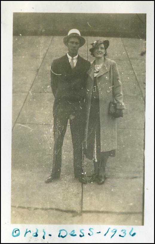 Oral Sinnett and wife Vada Lynch