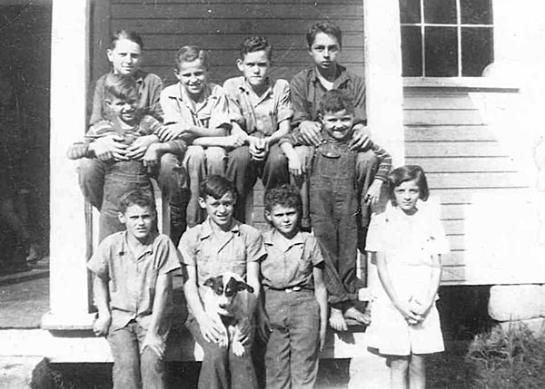Rock Creek School 1945