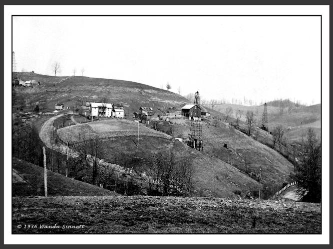 Matt Sinnett Farm in 1936