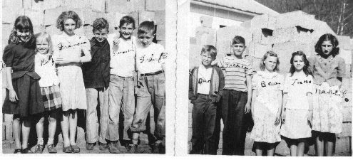 Middle Hurricane School 1946-1947 5th Grade