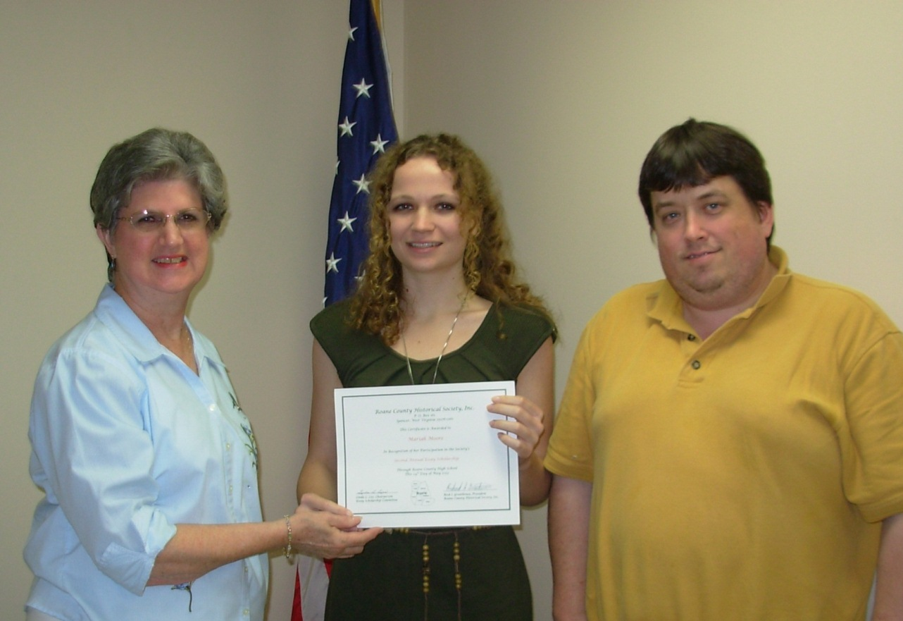2012 Essay Scholarship Recipient