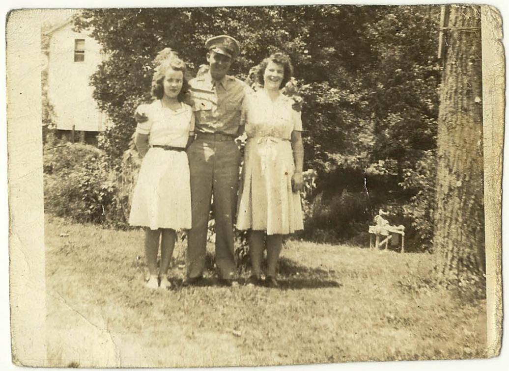 Virginia, Bo and Ruth Ogden