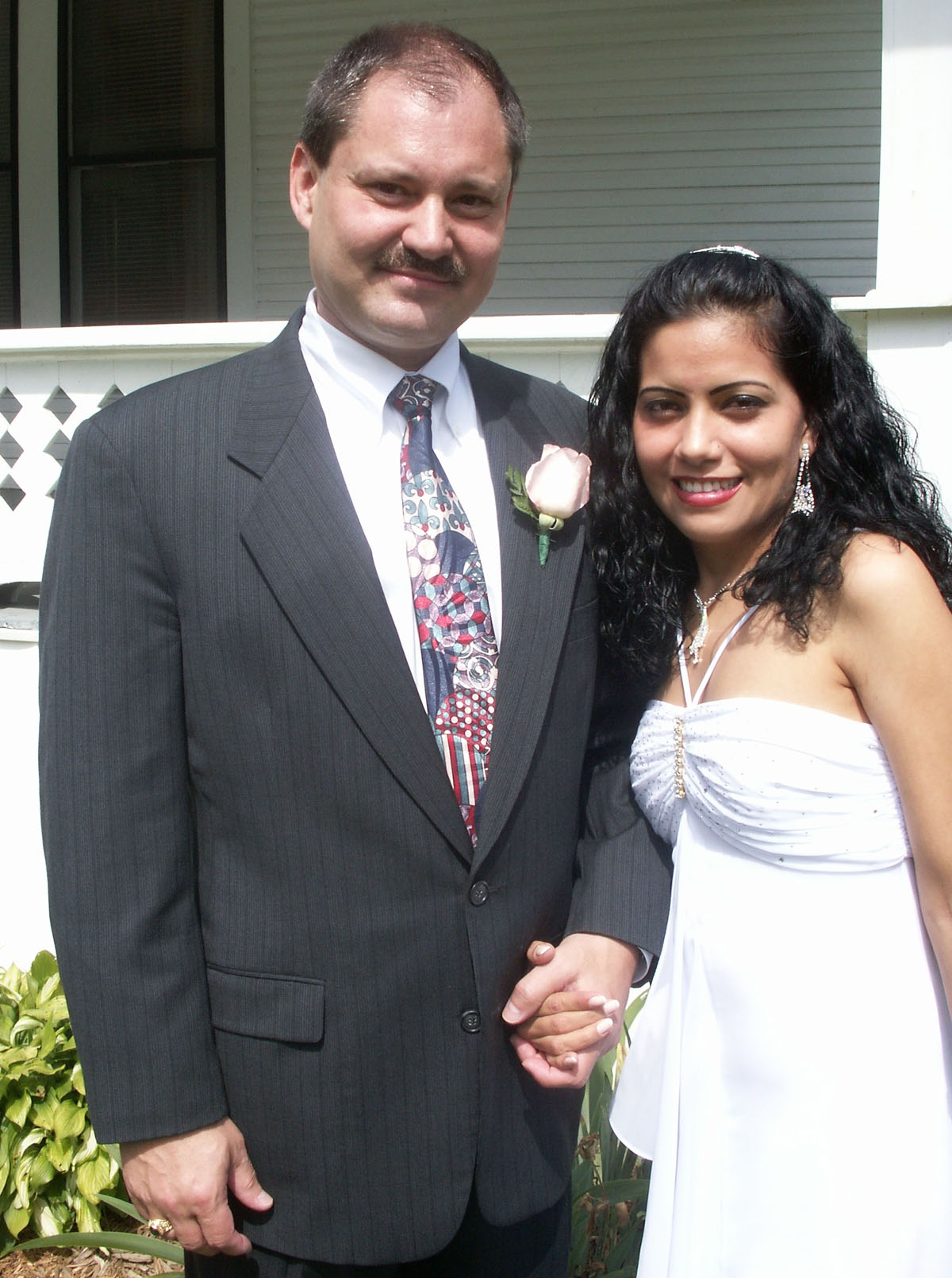 Randy Nida marries Zuany Marcela Gomez 06-10-2007