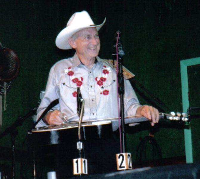 Jack and his dobro 6/11/2005