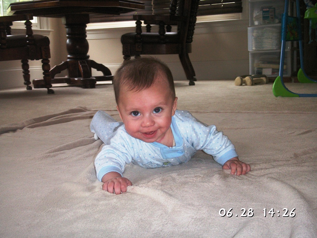 Randall C. Nida, Jr - 5 months old
