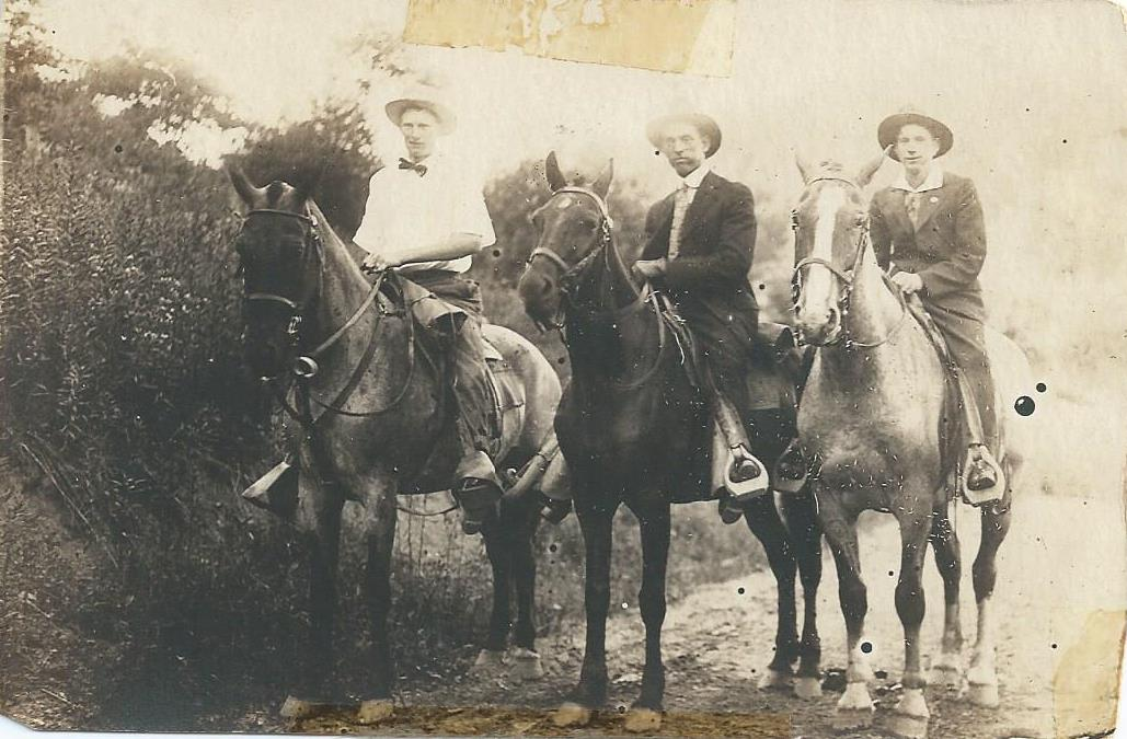 Unknown Men on Horseback