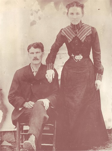 Isaac and Retta Salyers Wilmoth