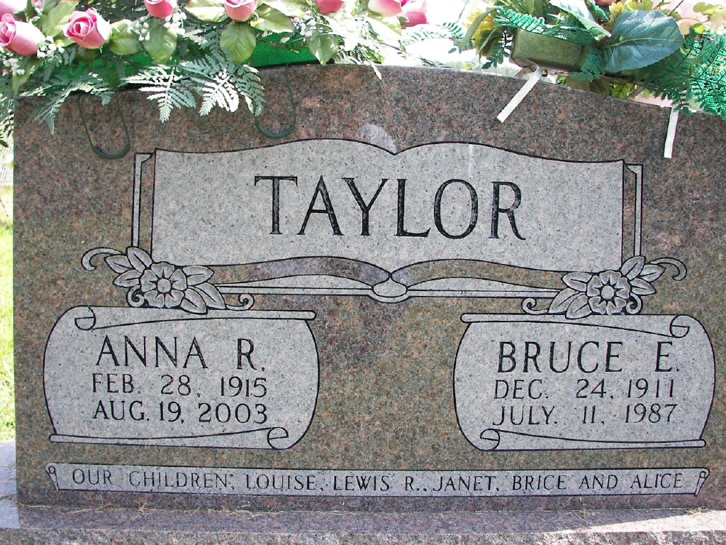 Bruce and Anna Taylor