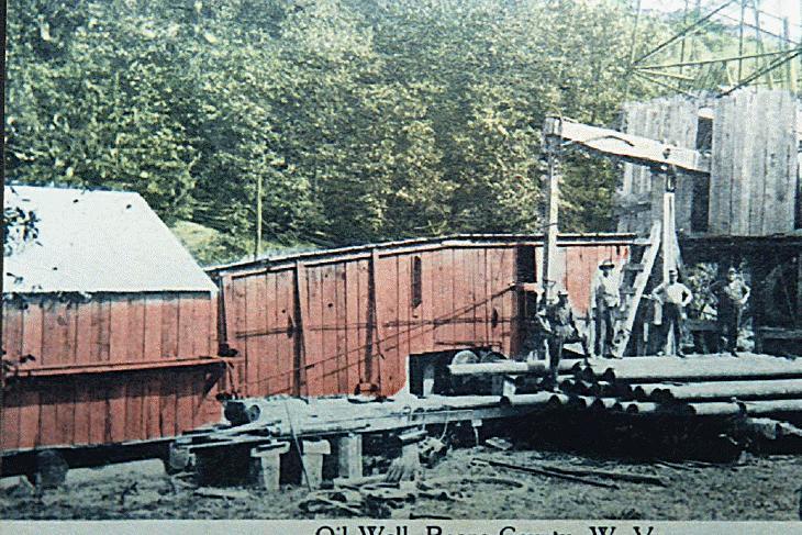 Oil Well in Roane County