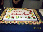 Woodyard Plaque Dedication - Cake