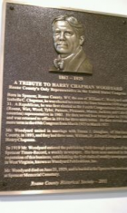 Harry Chapman Woodyard Plaque
