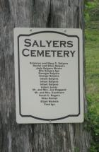 Salyers Cemetery Blown Timber