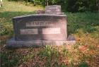 George A Harper & Amelia E. Kidd grave marker